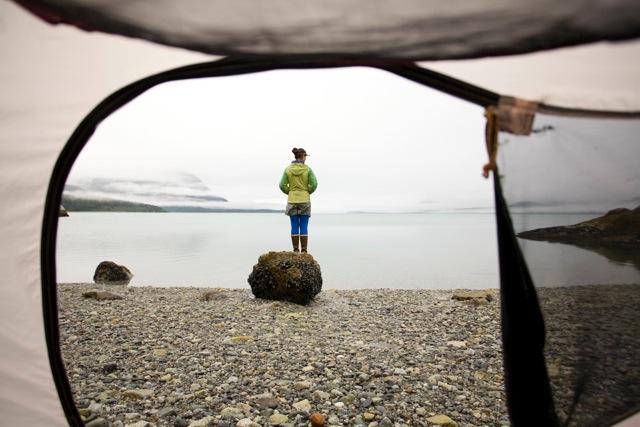 Glacier Bay tent